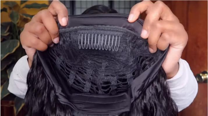 unice headband wig review