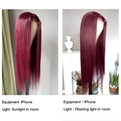99J-burgundy-wig-photoed-under-sunlight-and-flashing-light