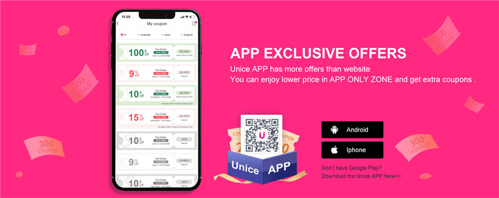 APP exclusive offers