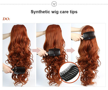 Guide to How to detangle synthetic wigs