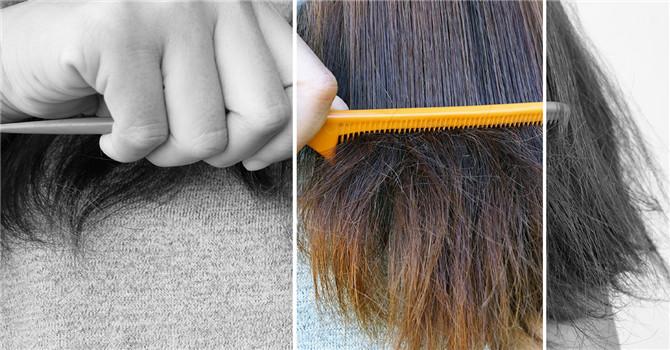 Damage of wigs tangle