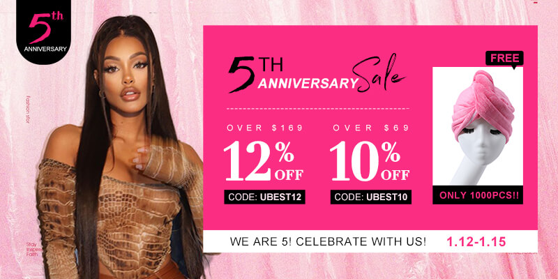 Best of UNice Hair 5th Anniversary Sale 2021