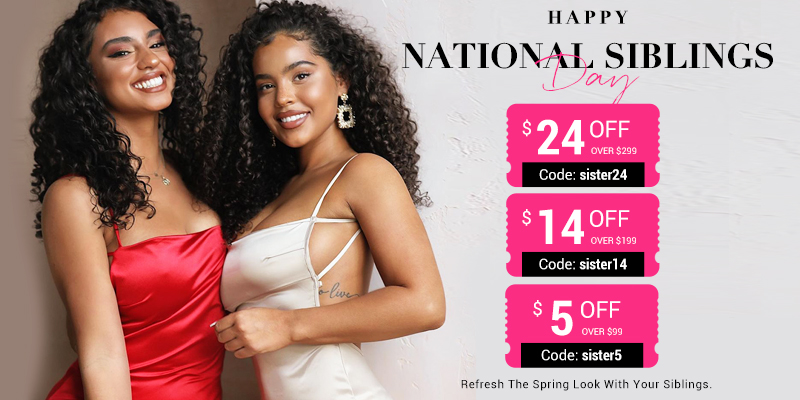 UNice Hair Siblings Day Sale:Gifts for Sisters