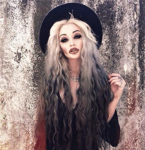 Vampire hairstyles for halloween