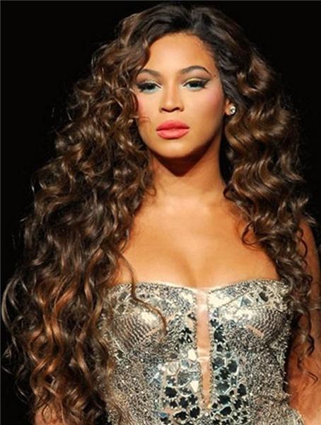 Beyonce wavy hair