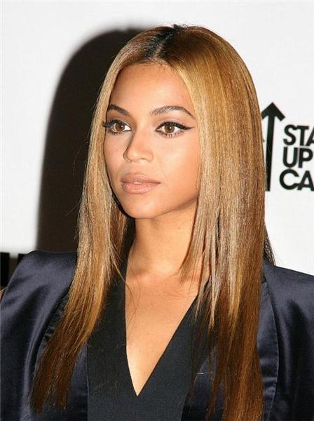 Beyonce Long Straight Hair
