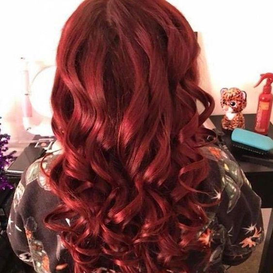 How to care for burgundy hair