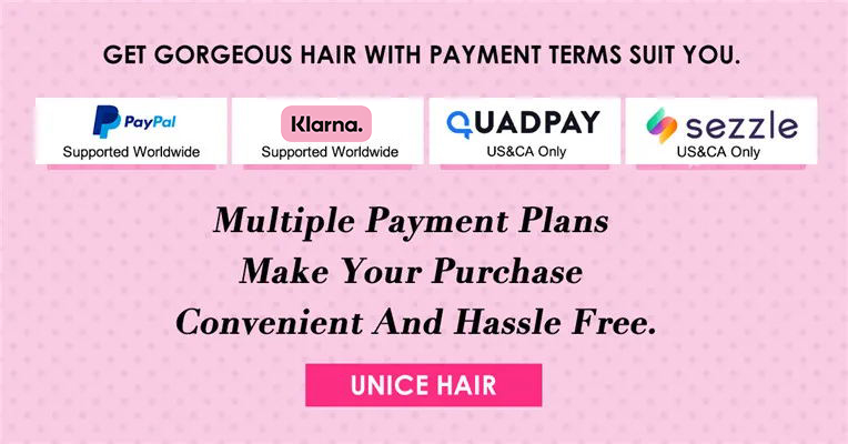 Buy Now Pay Later Hair Bundles and Wigs with Afterpay Zip Pay Quadpay Klarna or Sezzle