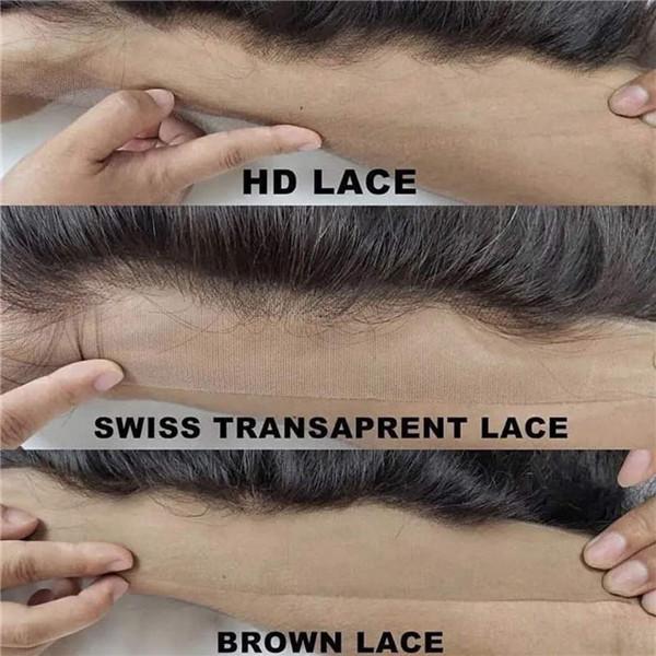HD Lace vsTransparent Lace