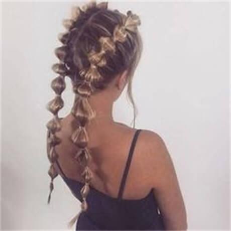 double-bubble-ponytails