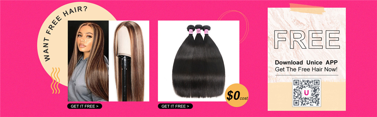 Download UNice you can get free hair