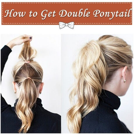how-to-get-double-ponytail