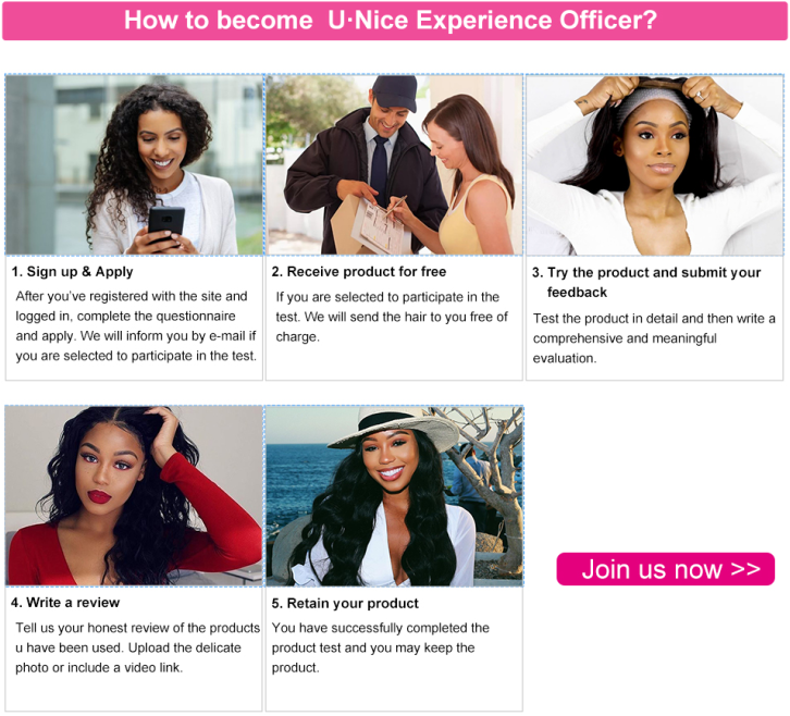 How to become a UNice experience officer?
