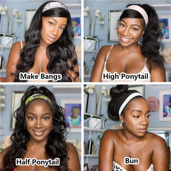 Benefits of Headband Wig.