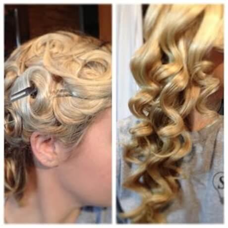 pin-curls