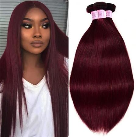 99j Straight Human Hair 3 Bundles