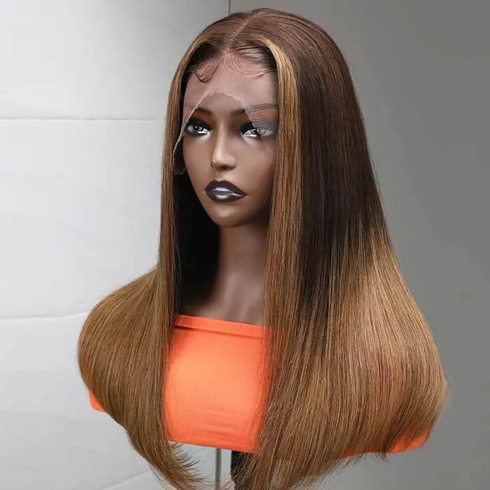 Advantage of Colored Middle Part Lace Front Wigs