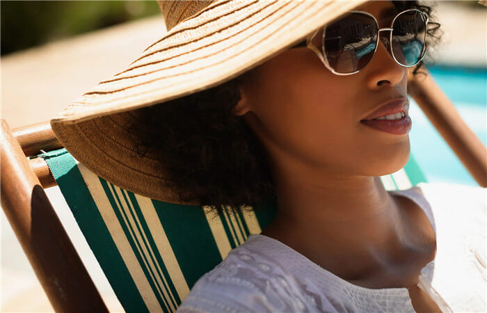 Protect your hair and scalp from sunlight