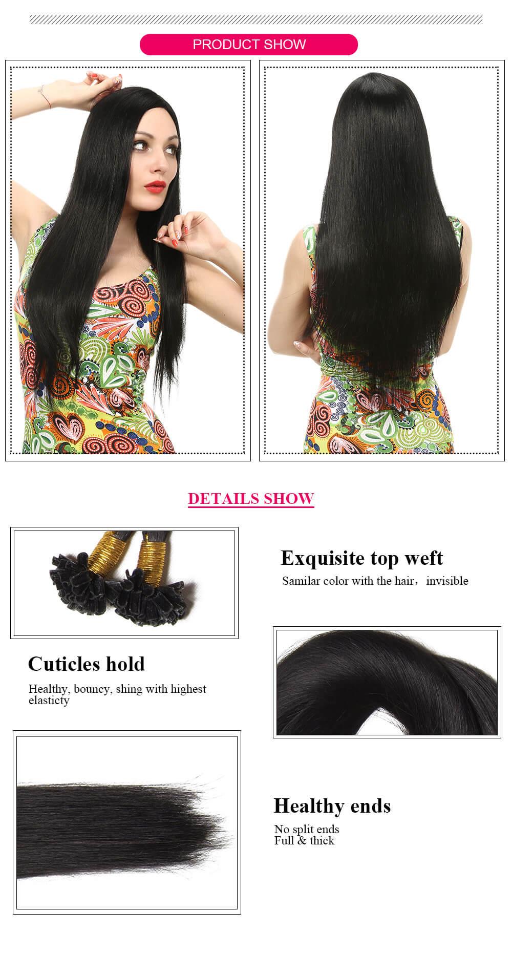 U Tip hair product details