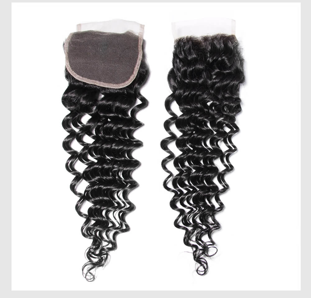 Deep Wave Hair Extension With Lace Closure