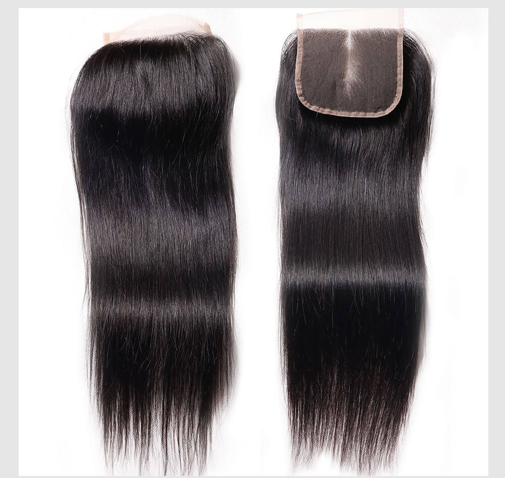 Unice Banicoo straight hair with closure