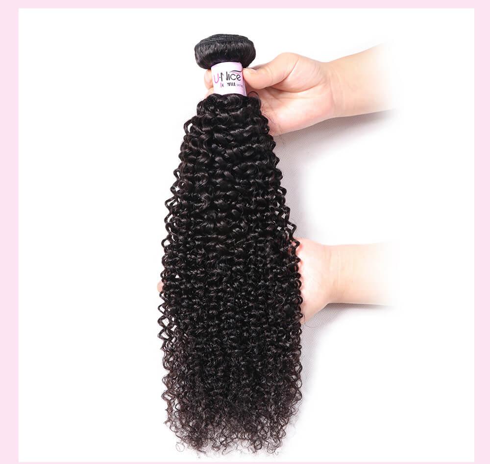 UNice Hair Icenu Series 1 Bundle Kinky Curly Hair 100% Unprocessed Virgin Human Hair