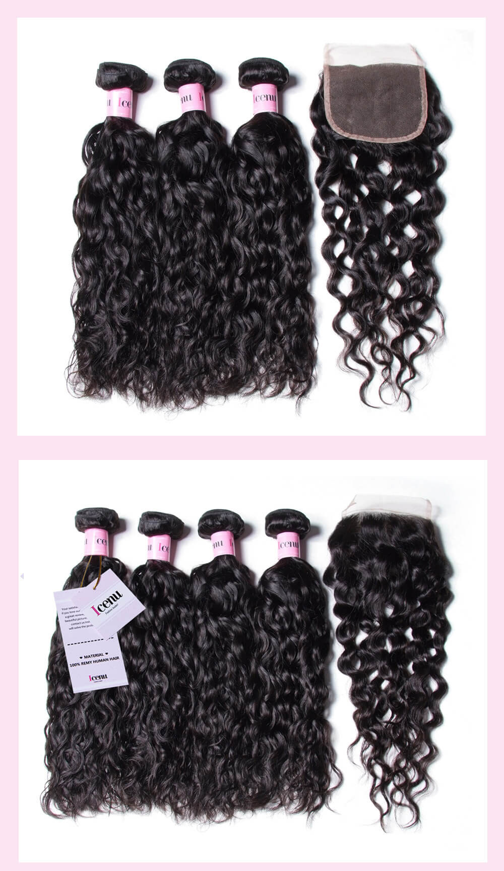 Water Wave Unprocessed Virgin Hair