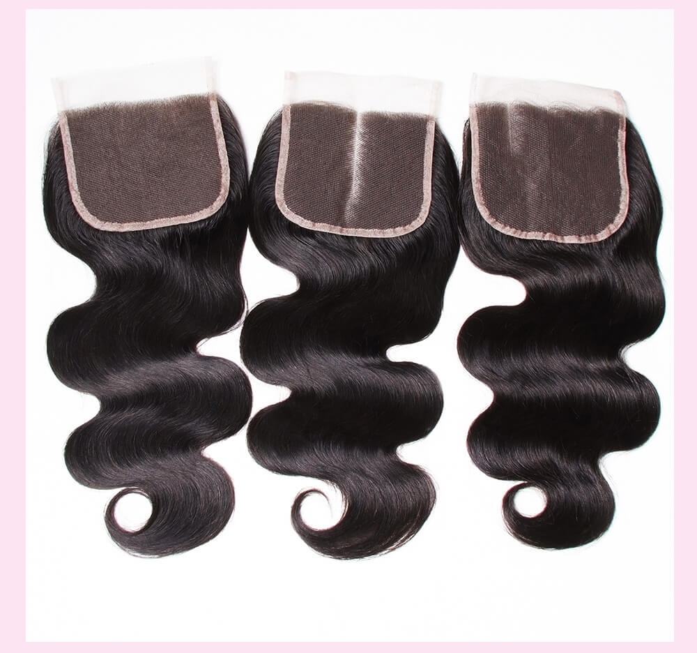 Malaysian Body Wave Bundles With Closure