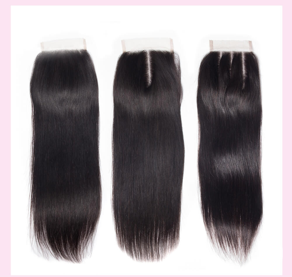 Peruvian Straight Virgin Hair With Closure