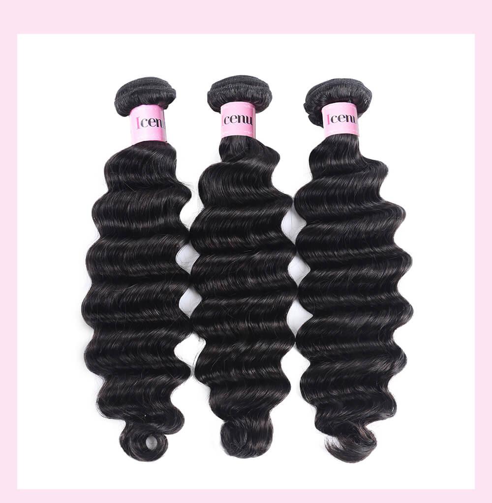 Loose deep Wave Cheap Human Hair 3 Bundles