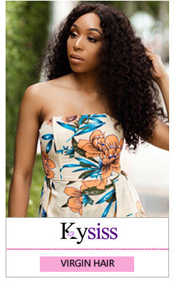 8A virgin hair kysiss series