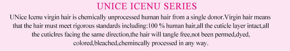 Icenu series product show