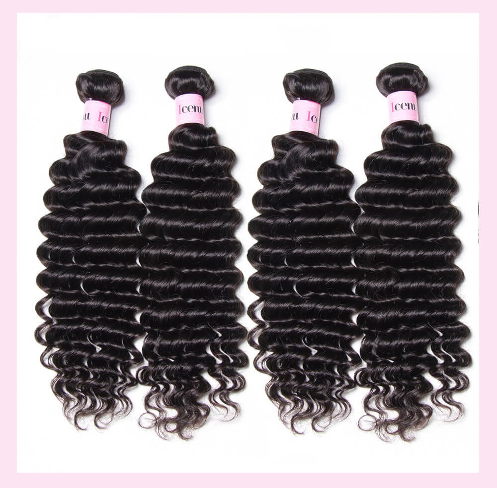 Cheap Malaysian Hair Weaving 12-26 Inches Deep Wave