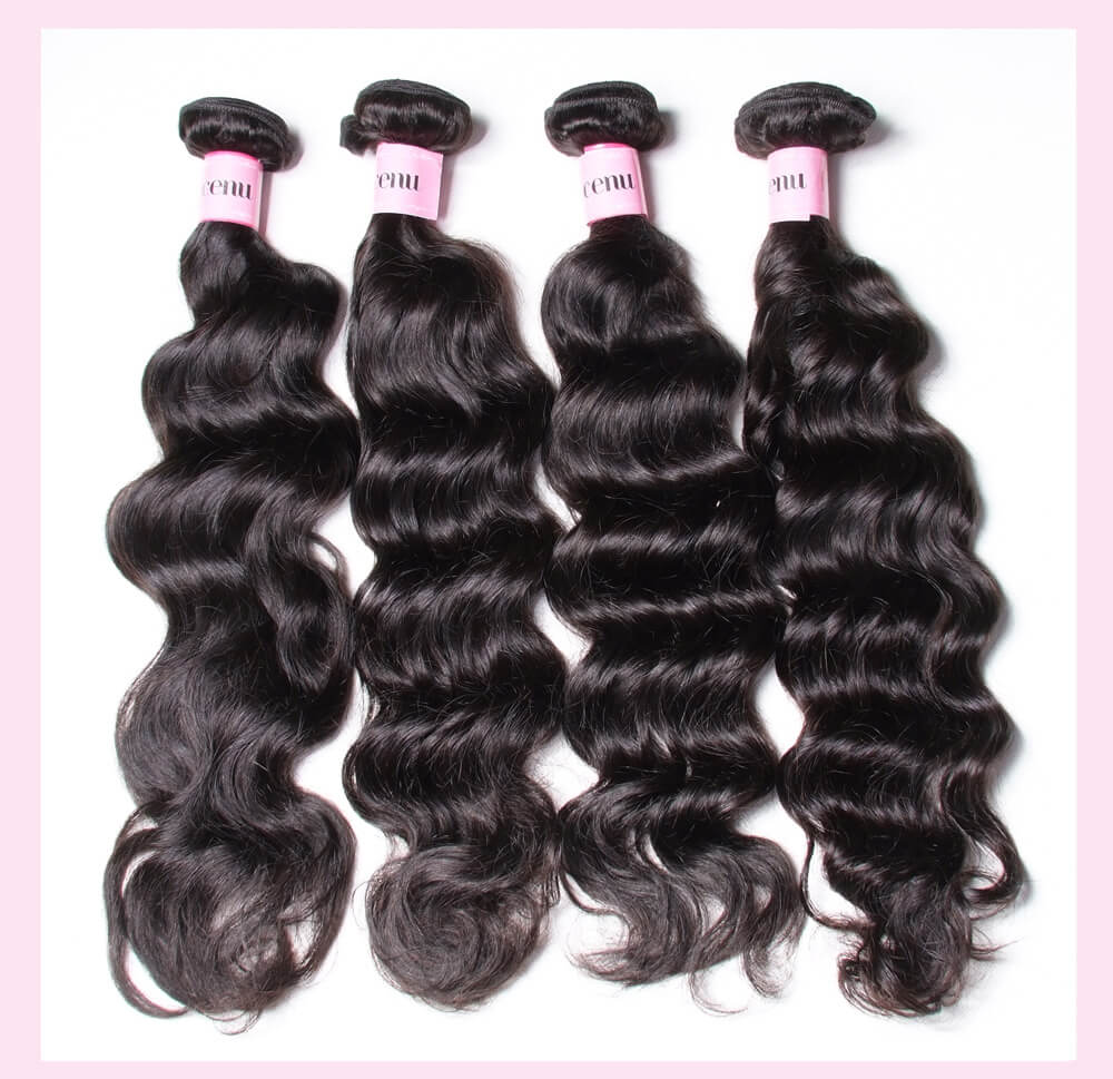 7A Grade Malaysian Natural Wave Human Hair