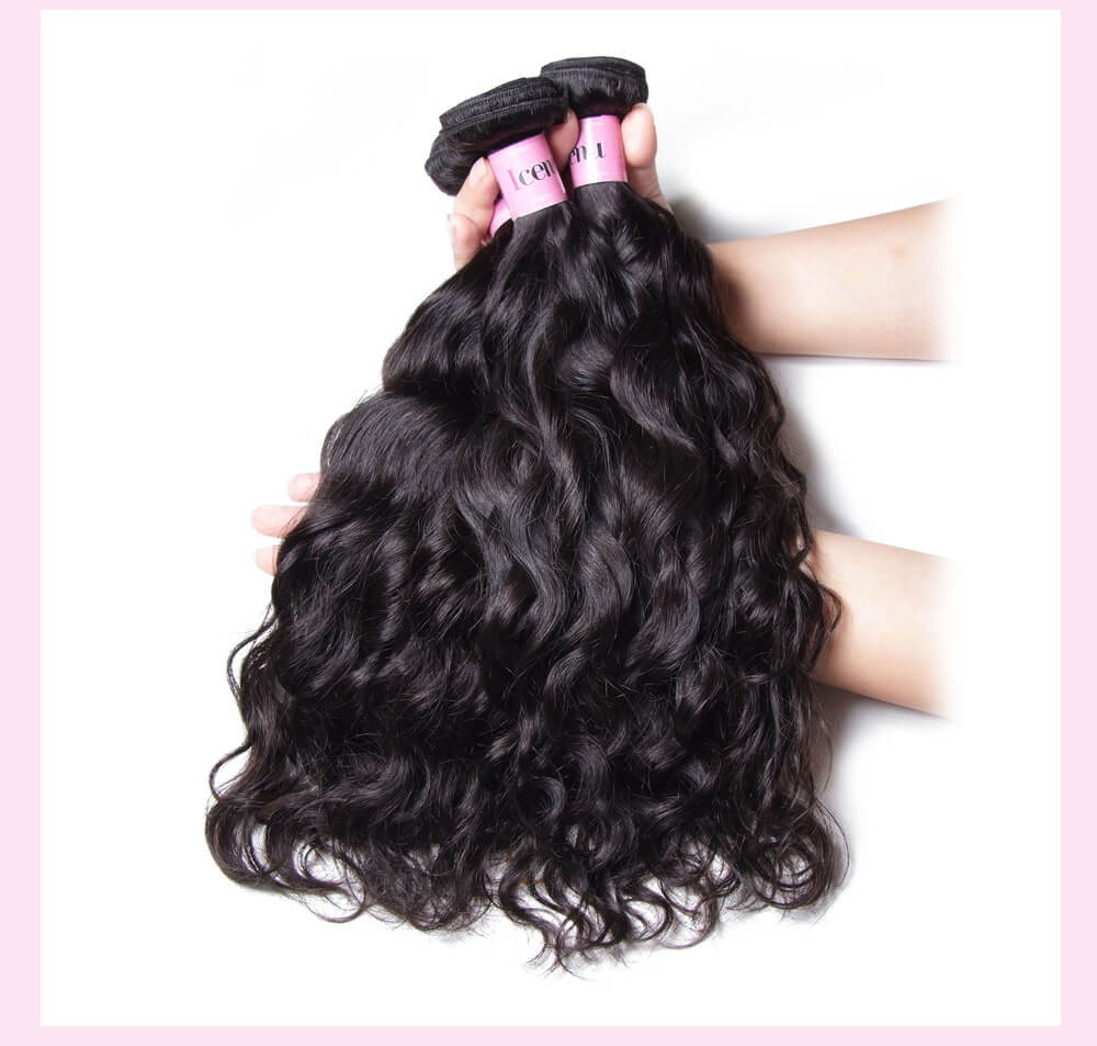 Indian Virgin Hair Natural Wave