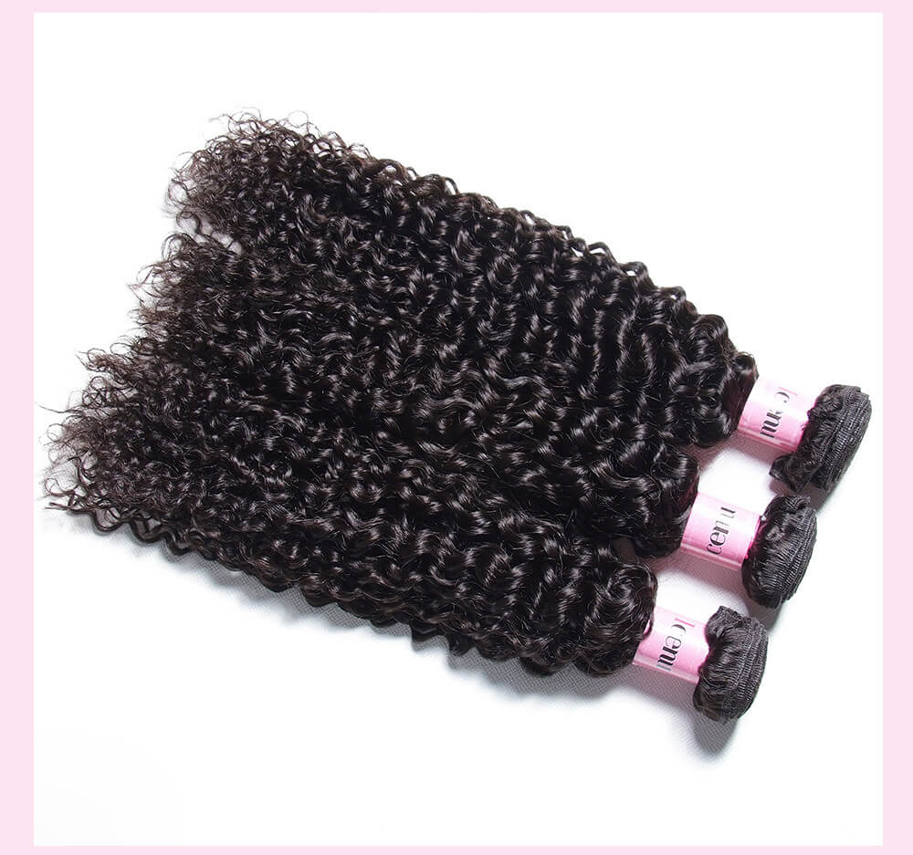 Brazilian Jerry Curly Virgin Hair 4pcs/pack