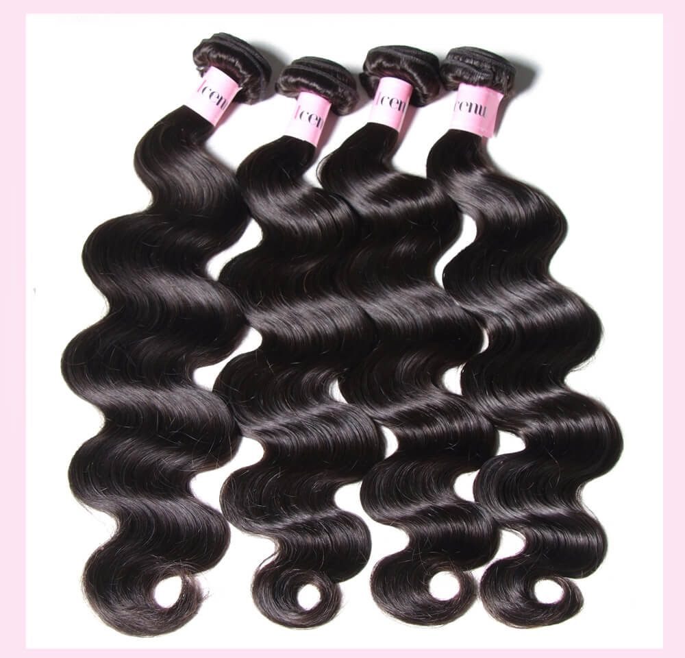 Malaysian Body Wave Virgin Hair 3 Bundles