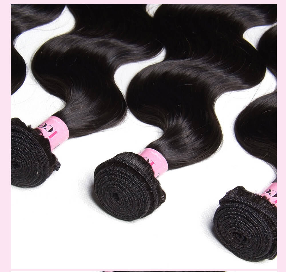Brazilian Body Wave Virgin Hair 4 Bundles