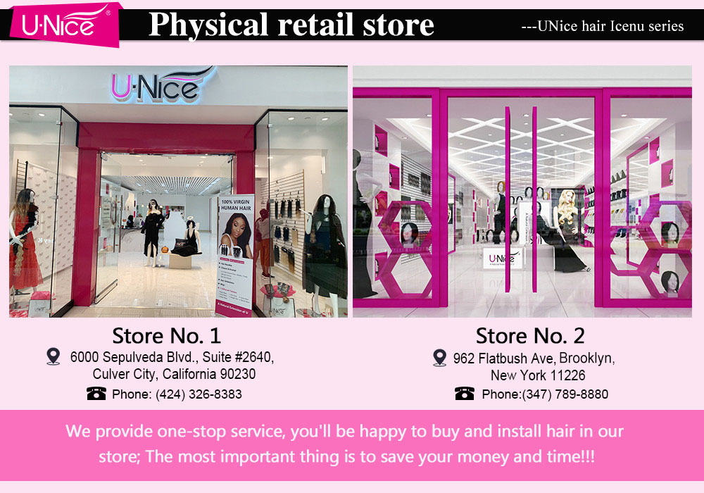 UNice physical retail store