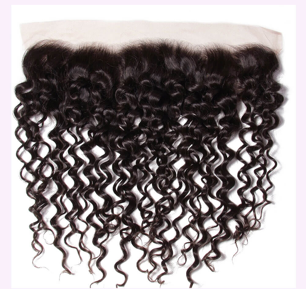 Unice kysiss curly hair 3 bundles with frontal closure