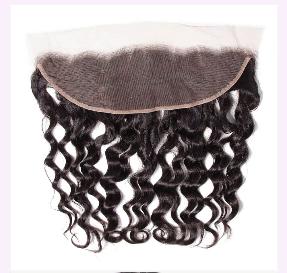 Unice kysiss natural wave 3 bundles with frontal closure