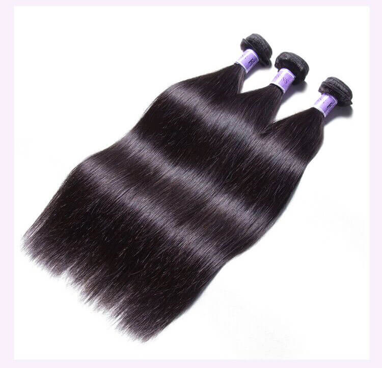 Unice kysiss straight hair 4 bundles hair with 360 frontal