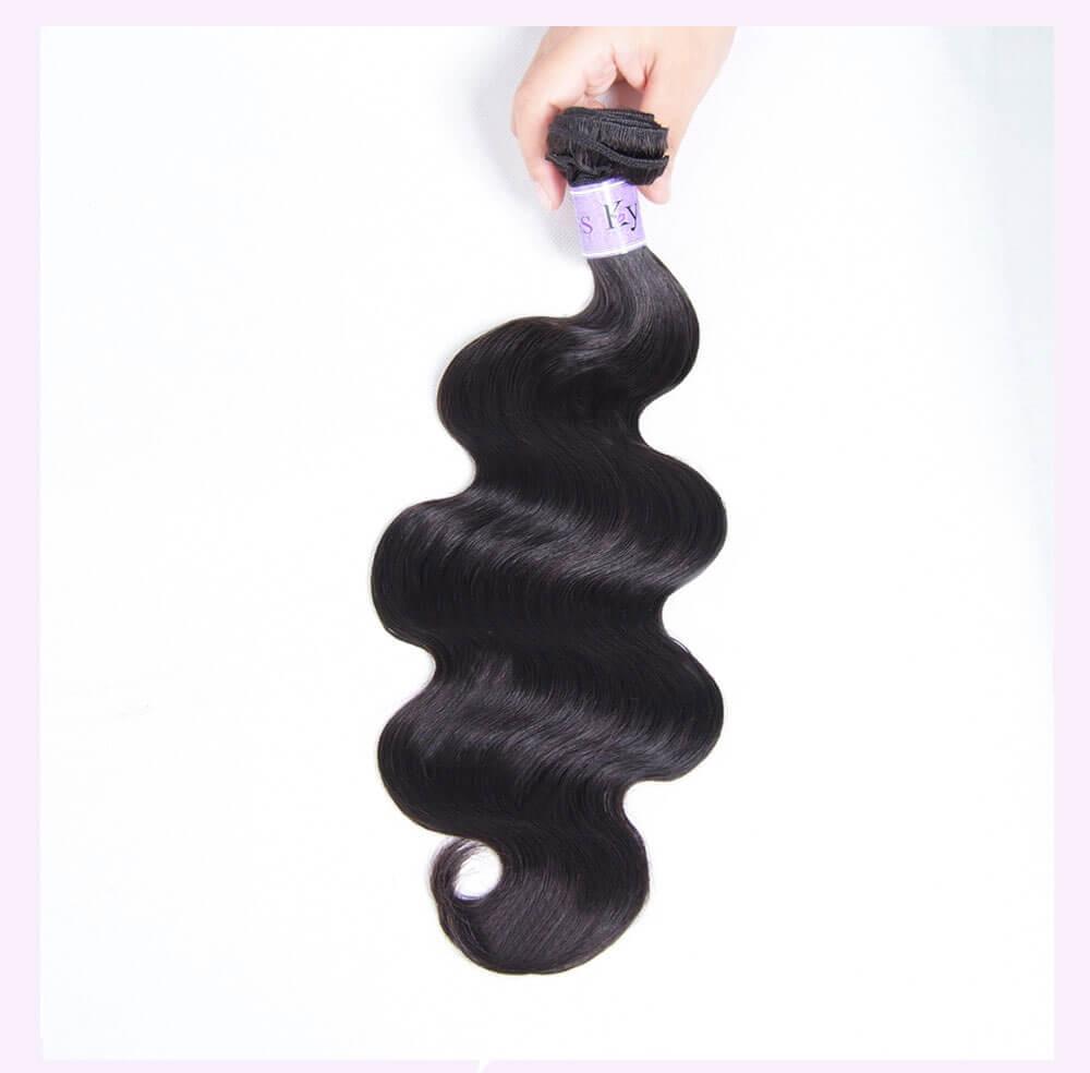 Unice kysiss 1pc body wave hair