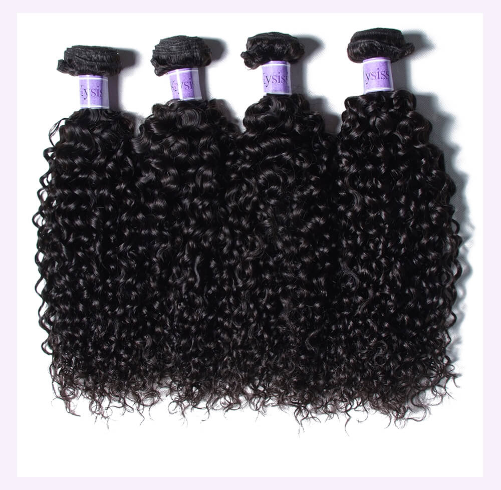 Unice kysiss Indian curly 3 bundles hair