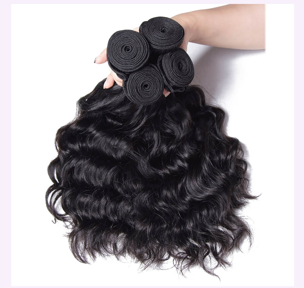Unice kysiss Brazilian natural wave 3 bundles hair