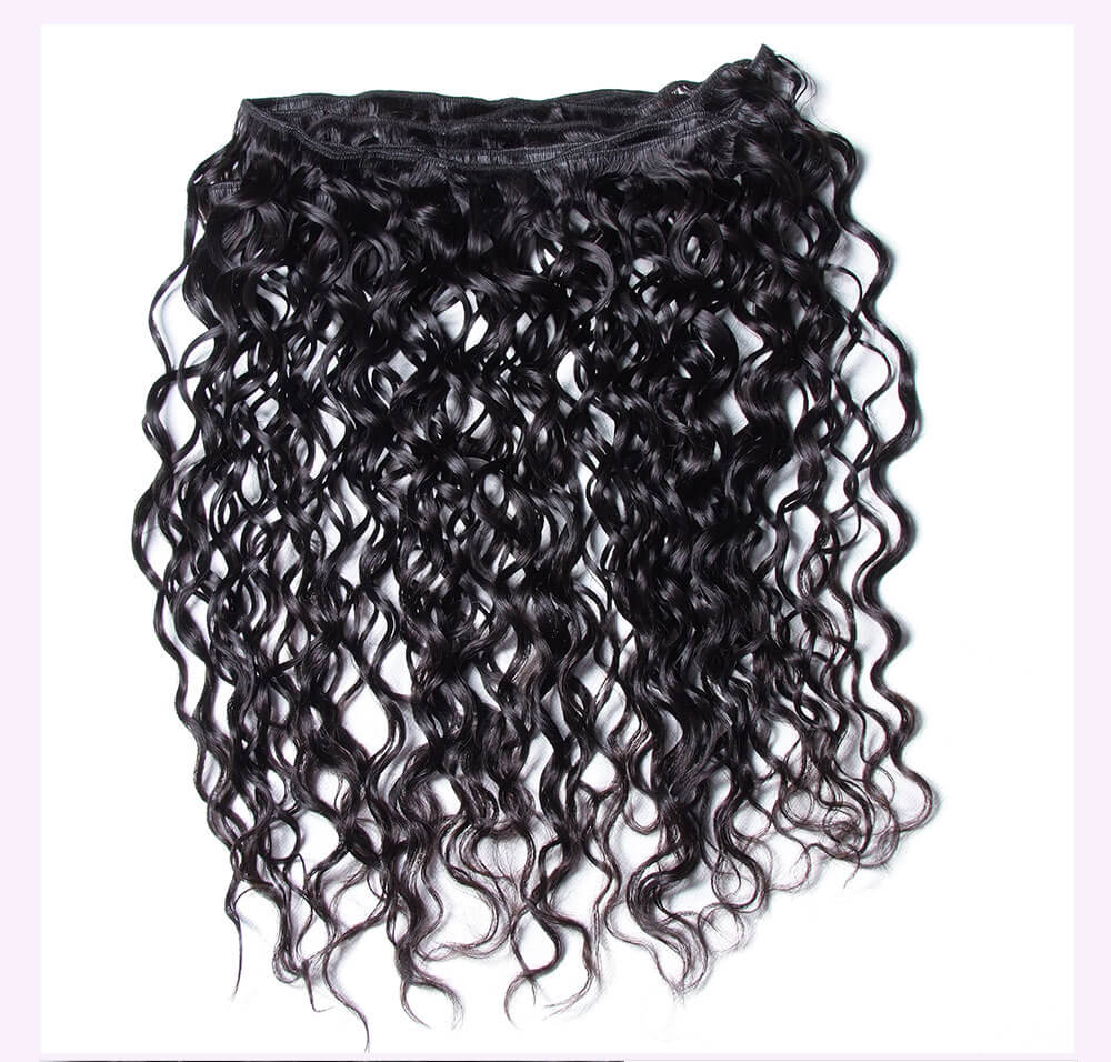 Unice kysiss Malaysian water wave 4 bundles hair