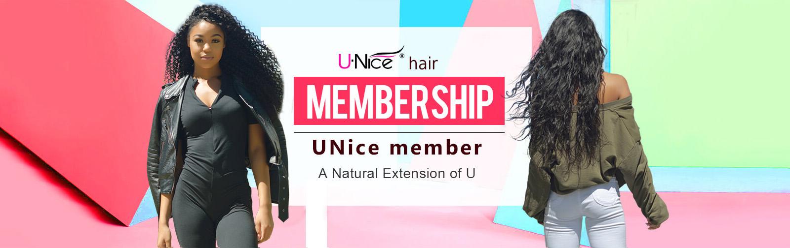 UNice Hair Membership