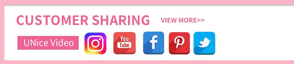 UNice customer share video
