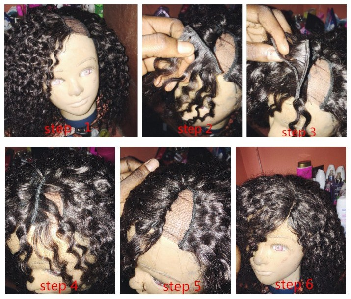 How to make a lace closure?