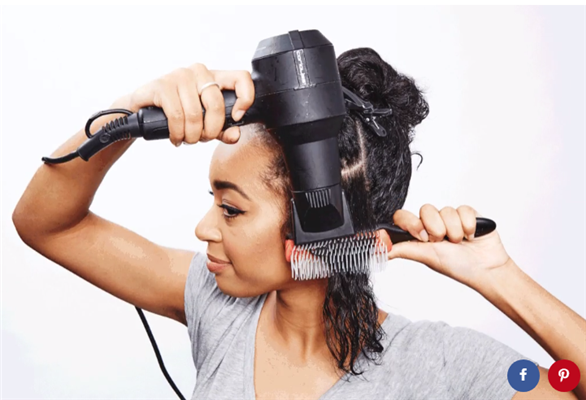 dry your curly hair
